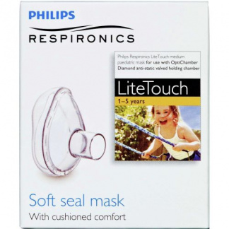 Phillips Lite Touch Маска за инхалатор, 1-5 год возраст