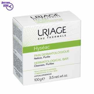 URIAGE HYSÉAC – DERMATOLOGICAL BAR синдет за лице, 100 gr