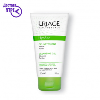 URIAGE  HYSÉAC - CLEANSING GEL, гел за миење лице, 150 ml