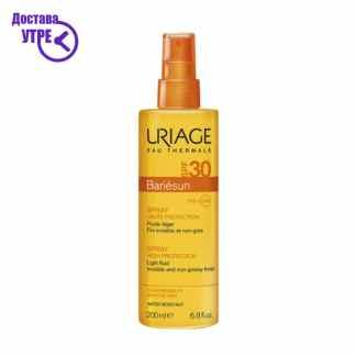 URIAGE  BARIÉSUN SPRAY SPF30, спреј за сончање СПФ 30, 200 ml