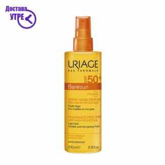 URIAGE  BARIÉSUN FRAGRANCE-FREE SPRAY SPF50+, спреј за сончање СПФ 50+, 200 ml