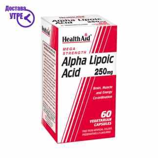 HealthAid Alpha Lipoic Acid 250mg 60's Vegicaps, 60