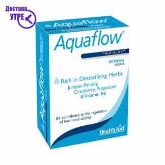 HealthAid Aquaflow® Blister (Dandelion,Cleavers,Juniper++)-Blister Pack, 60