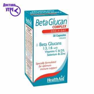 HealthAid Beta Glucan Complex 30 Capsules, 30