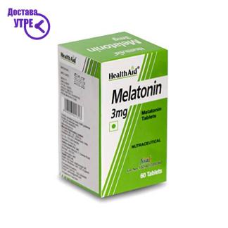HealthAid Melatonin 3mg, 60