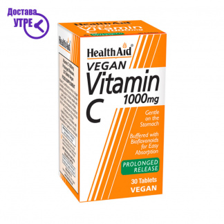 HealthAid Vitamin C 1000mg Tablets Prolonged Release, 30