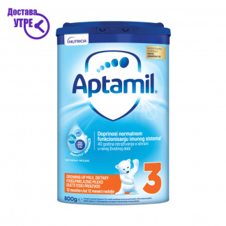 Aptamil 3   Аптамил 3, млеко за мало дете, прав, 800 gr