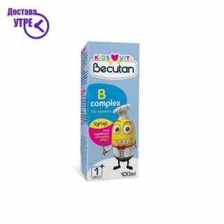 BECUTAN KIDS VITS Б-КОМПЛЕКС, сируп со вкус на ананас, 100 ml