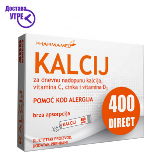 Pharmamed Kalcij 400 direct Калциум 400 директ, 20