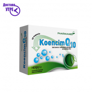Pharmamed KoencimQ10 Коензим Q10, 30*30mg