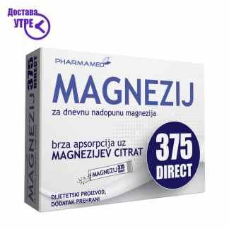 Pharmamed Magnezij 375 direct Магнезиум 375 директ, 20