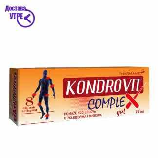 Pharmamed  Kondrovit complex gel Кондовит комплекс гел, 75 ml