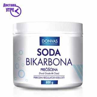 Donvas Soda Bikarbona procistena Сода Бикарбона прочистена, 800 gr