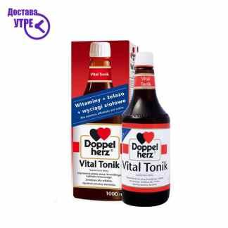 Doppelherz Vital Tonik препарат за виталност и енергија на база на антиоксиданси,  750 мл