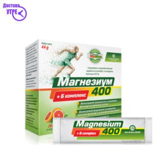 MAGNESIUM 400+B-COMPLEX Кеси, 20