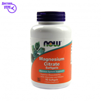 NOW MG CITRAT 400MG, 90 CPS