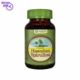 HAWAIAN SPIRULINA TB.200X500MG