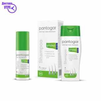 PANTOGAR SHAMPOO +TONIC FOR MEN 2 X 200 ml