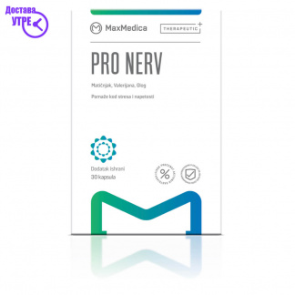 MAXMEDICA PRO NERV Капсули, 30