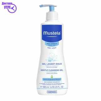 MUSTELA Gentle cleansing gel, 500 ml
