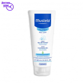 MUSTELA  2 in 1 Cleansing gel, 200 ml