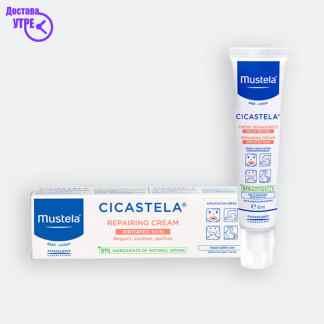 MUSTELA Cicastela repairing cream, 40 ml