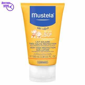 MUSTELA  Very High Protection Sun Lotion - SPF 50+, 100  ml