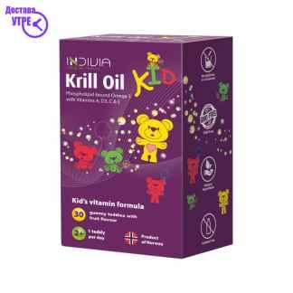 KRILL OIL KID овошни гумени бонбони, 30