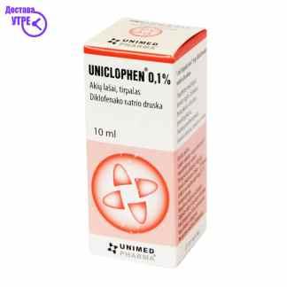 UNICLOPHEN раствор 0.1%, 10 ml