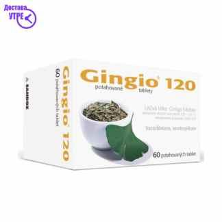 GINGIO 120 mg таблети, 60