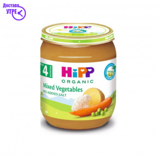 HIPP каша од мешан зеленчук, 125 gr