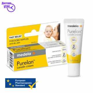 Medela PureLan Nipple Cream- Ланолин крема за брадавици туба од 7г