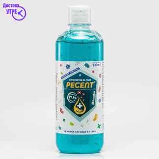 RESEPT GEL гел за дезинфекција со капаче, 500 ml