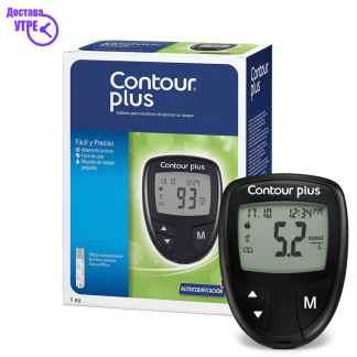 CONTOUR PLUS апарат за мерење шеќер во крв