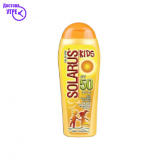 SOLARUS KIDS MLEKO SPF50, 200 ml