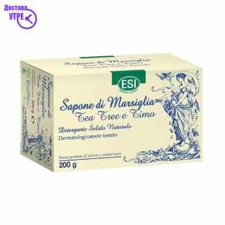 ESI TEA TREE сапун од чајно дрво, 200 gr
