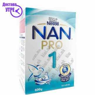 Nestle Nan Pro 1 Млечна Формула, 600г