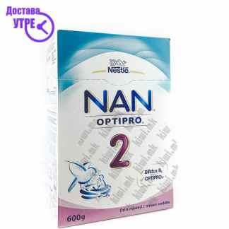 Nestle Nan 2 Optipro 2 Млечна Формула, 600г