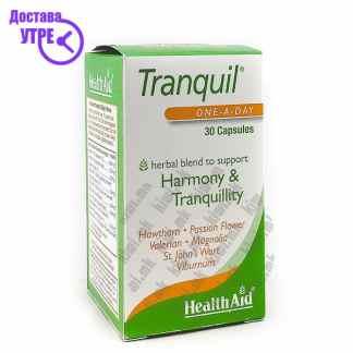 Health Aid Tranquil Хербален Микс за Подобрување на Менталното Здравје капсули, 30