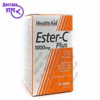 Health Aid Ester C Plus Витамин Ц таблети, 30