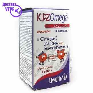Health Aid Kids Omega Омега-3 за Деца капсули, 60