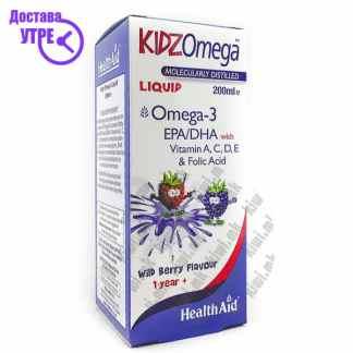 Health Aid Kids Omega Омега-3 за Деца сируп, 200мл