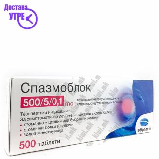Спазмоблок таблети, 10