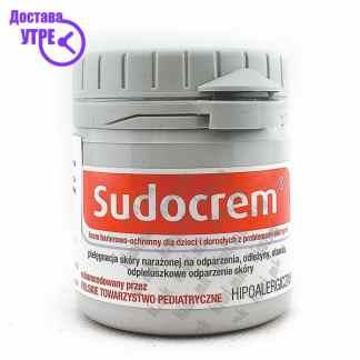 Sudocrem Антисептичка Крема за Брзо Заздравување, 60г