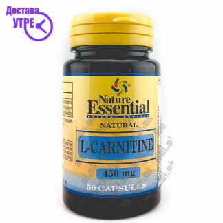 Nature Essential L-Carnitine капсули, 50