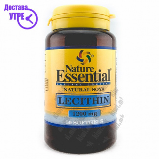 Nature Essential Soya Lecithin капсули, 50