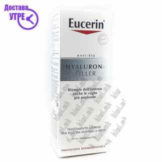 Eucerin Hyaluron-Filler Day Cream Дневна Крема за Лице, 50мл