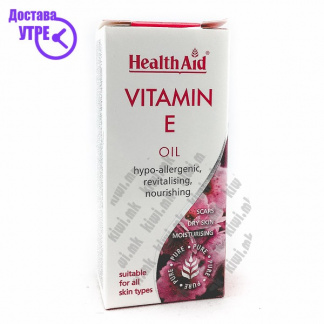 Health Aid Vitamin E Oil Витамин Е Масло, 50мл