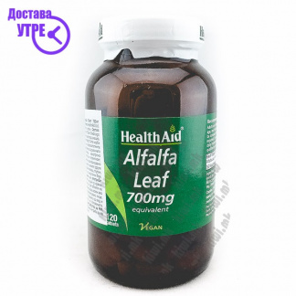 Health Aid Alfalfa Leaf Лист од Луцерка таблети, 120