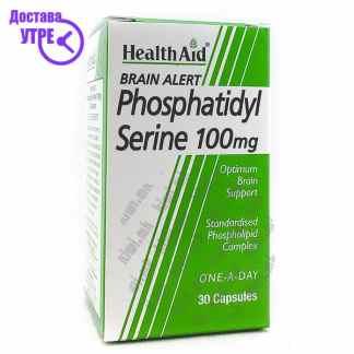 Health Aid Phosphatydil Serine капсули, 30